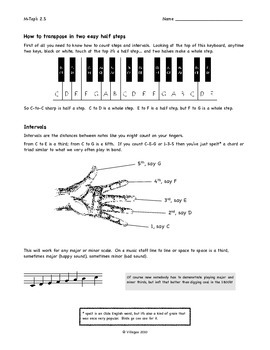 Transposing Instruments: A Study Guide