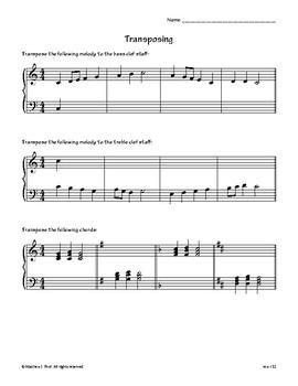 Transposing Notes