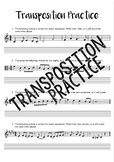 Transposition Practice