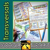 Transversals Doodle Notes