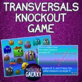 Parallel Lines Cut by a Transversal Activity- Knockout Game