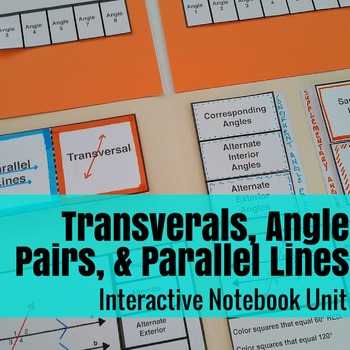 Transversals, Parallel Lines, & Angle Pairs: An Interactiv