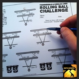 Transversals & Parallel Lines: Rolling Ball Challenge