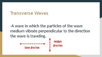 Transverse Waves and Wave Behavior Powerpoint