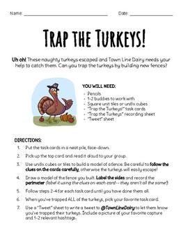 Trap the Turkeys! (Perimeter Project)