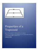 Trapezoid Midsegment Properties in Coordinate Geometry