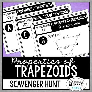 Trapezoids Scavenger Hunt