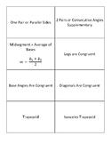 Trapezoid Property Card Match