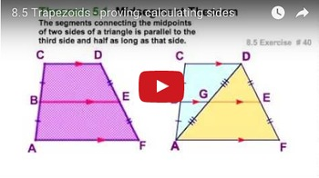 Trapezoid worksheet
