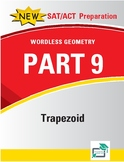 Trapezoids - 16 pages 91 questions with answer key