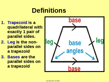 Power-Point:  Trapezoids Are NOT Square!