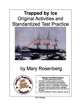 Trapped By Ice Language Arts Activities and Standardized Test Practice