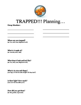 """""""Trapped"""" Pantomime Assignment"""