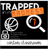 Escape Room Trapped in Math Class - March Madness