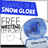 Trapped in a Snow Globe Writing Freebie