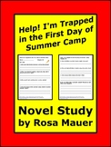 Help! I'm Trapped in the First Day of Summer Camp Book Unit
