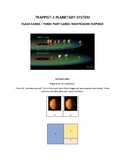 Trappist-1 Planetary System Three parts cards Montessori I