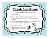 Trash Can Game