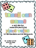 "Trash Can Game - A ""Roll the Dice"" game for Practicing Place Value"