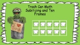 Trash!  Math with Subitizing and Ten Frames