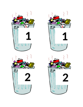 Trash Can Numbers