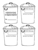Trash Can Thesaurus -- Word Choice Student Resource