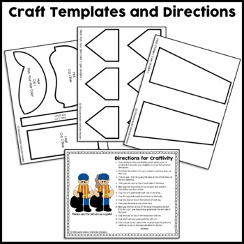 Community Helper Craft {Trash Collector}