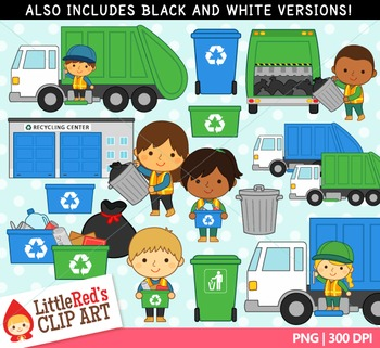 Trash Collectors Clipart
