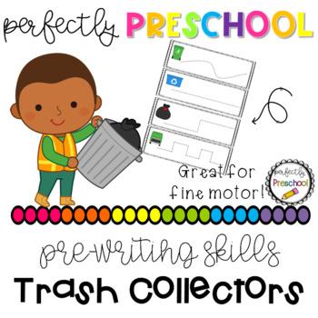 Trash Collectors Prewriting Skills {Dollar Deal}