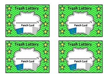 Trash Lottery