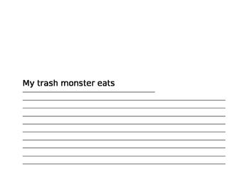 Trash Monster Writing