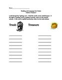 Trash Or Treasure: Spelling or Sight Word Center