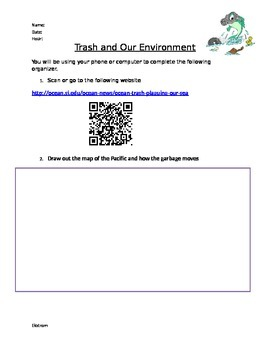 Trash and Our Environment Activity