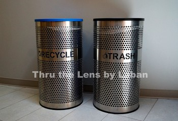 Trash and Recycle Can Stock Photo #239