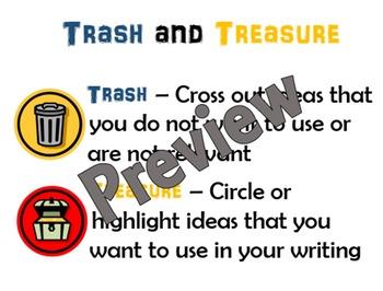 Trash and Treasure - Editing Strategy Poster