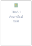 Trash by Andy Mulligan Analytical Quiz