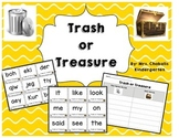 Trash or Treasure Literacy Center Activity
