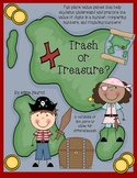 Trash or Treasure: A Place Value Math Game Common Core Aligned