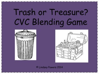 Trash or Treasure? CVC Blending Game