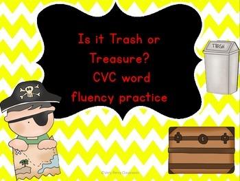 Trash or Treasure CVC Practice