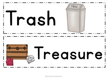 Trash or Treasure CVC Practice