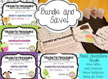 "BUNDLE!! ""Trash to Treasure"" DVD case games - Basic Operations"