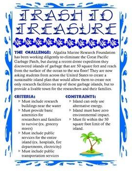 Trash to Treasure Design Brief