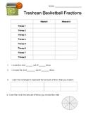 Trashcan Basketball Fractions