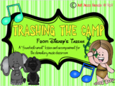 Trashing The Camp- A 'found instrument' lesson