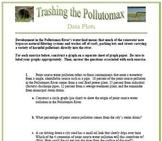 Trashing The Pollutomax: A Data Plotting Activity (Circle, Bar, and Line Graphs)