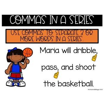 Trashketball: Commas in a Series