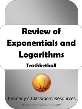 Trashketball: Exponential and Logarithm Review