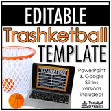 Trashketball Game Template | EDITABLE