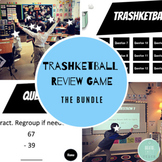 Trashketball Google Slides - BUNDLE - 2-Digit Subtraction + Editable Versions!